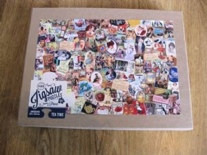 Retro Classic Tea Time Jigsaw Puzzle 500 Pieces